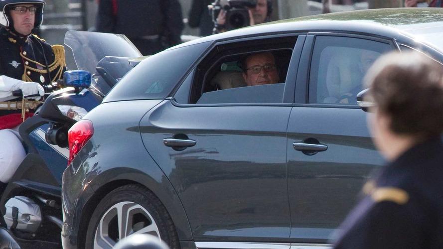 Citroën DS5 Hybrid4 François Hollande