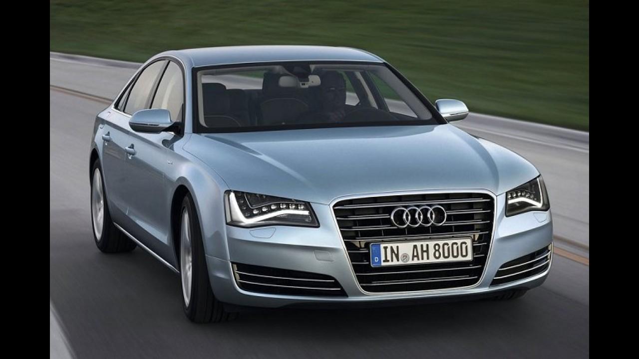 Audi investirá 13 bilhões de euros no desenvolvimento de novos produtos e tecnologias até 2016