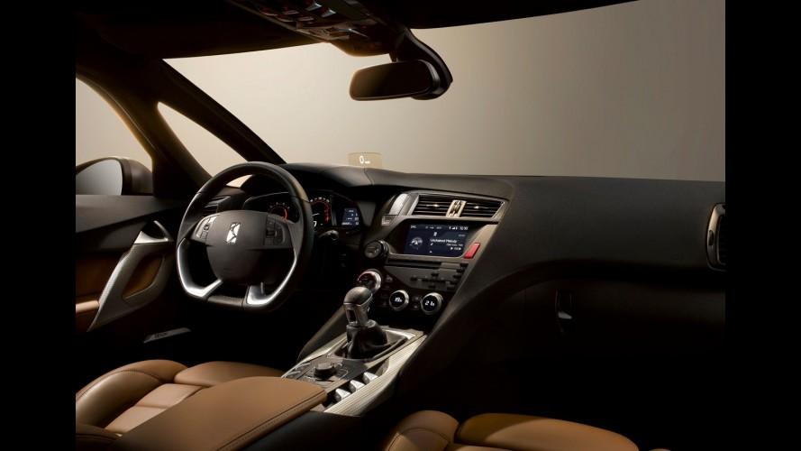 Citröen revela oficialmente primeiras imagens do interior do DS5 de produção
