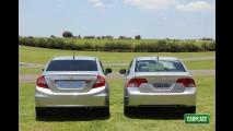 Impressões ao dirigir: Novo Honda Civic 2012