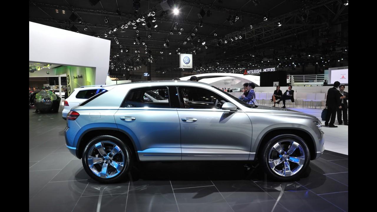 Volkswagen planeja crossover menor que o Tiguan
