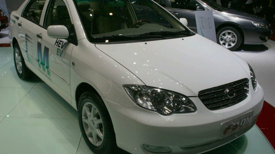 China's BYD beats GM and Toyota with first mass market plug-in hybrid