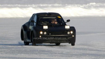 Mystery electric vehicle spied winter testing