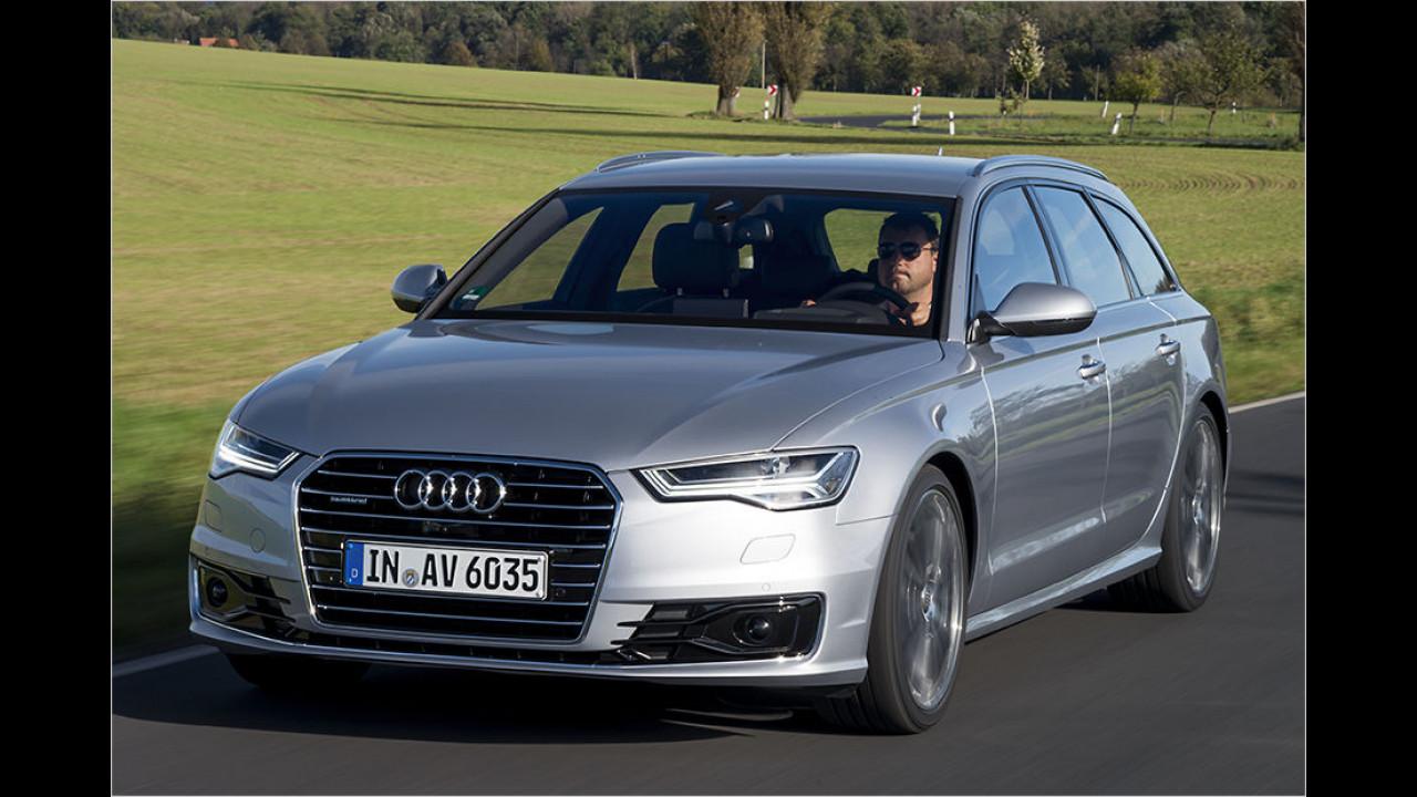 Obere Mittelklasse: Audi A6 Avant 2.0 TDI ultra S tronic