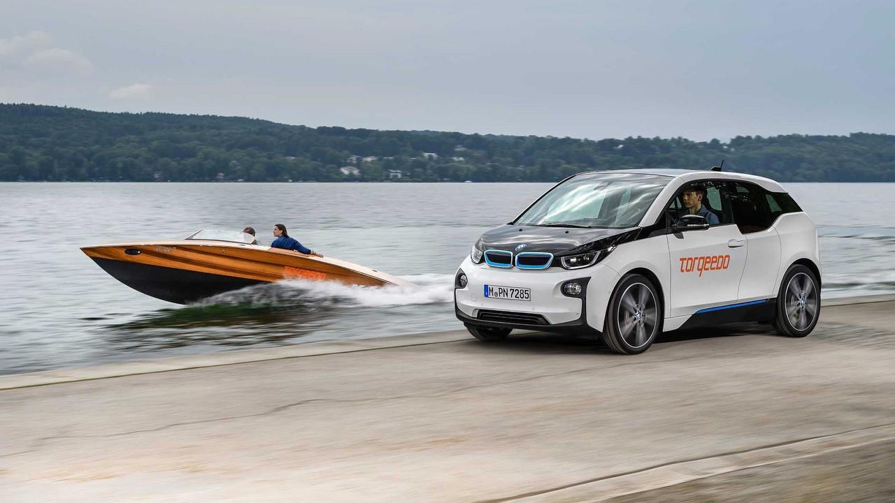 BMW i3 Torqeedo Boat Deal