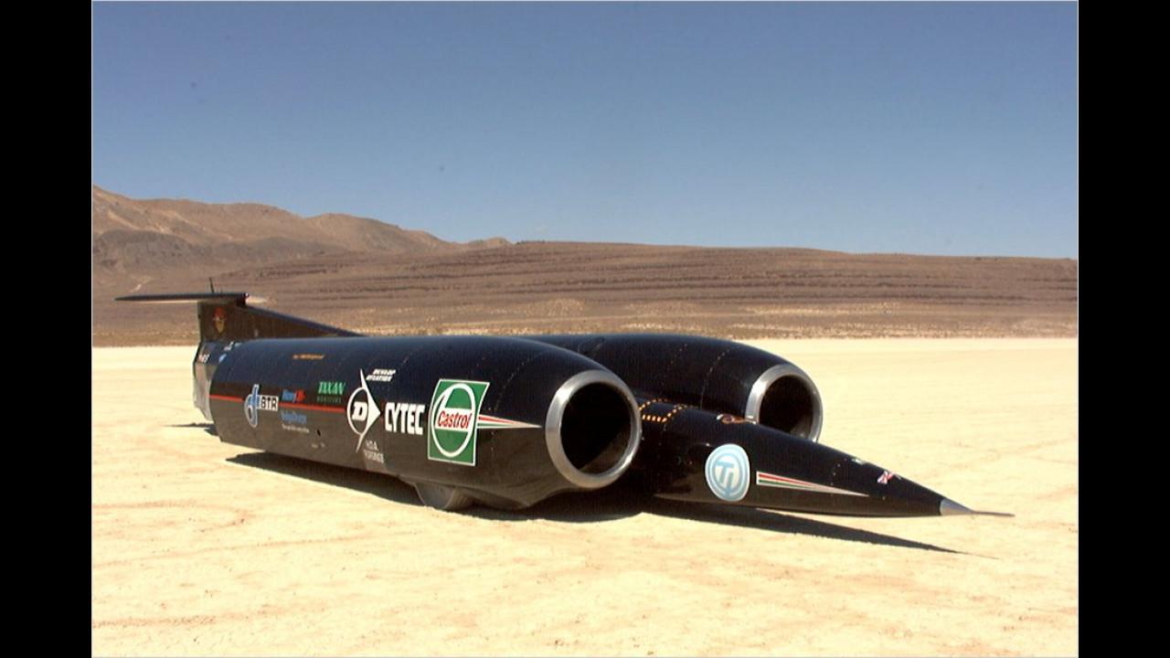 1.228 km/h: Thrust SSC