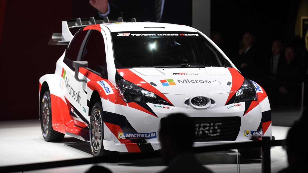 La Toyota 2017 de WRC au Mondial de l'Automobile