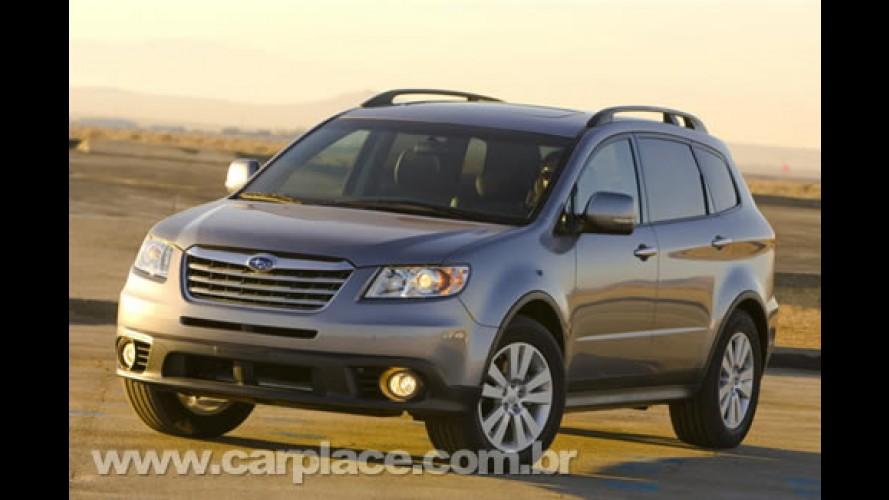 Novo SUV Subaru Tribeca chega com motor V6 3.5 de 270cv por R$ 197.900