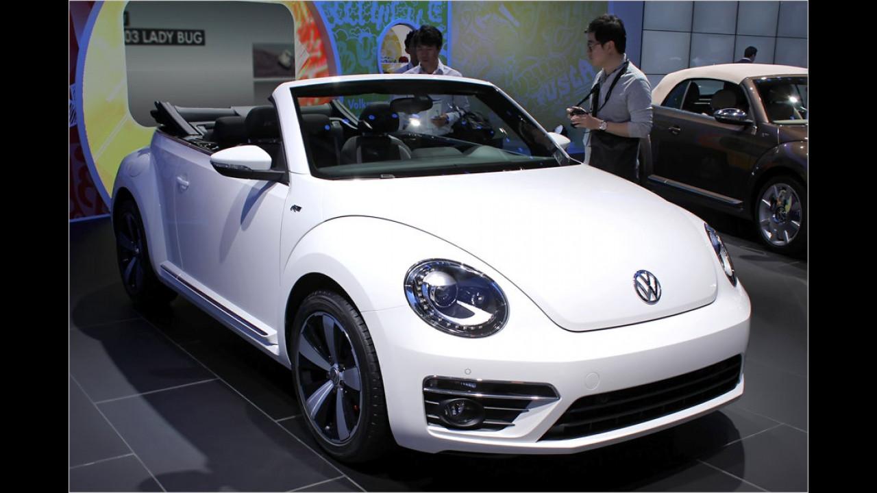VW Beetle Cabrio R-Line