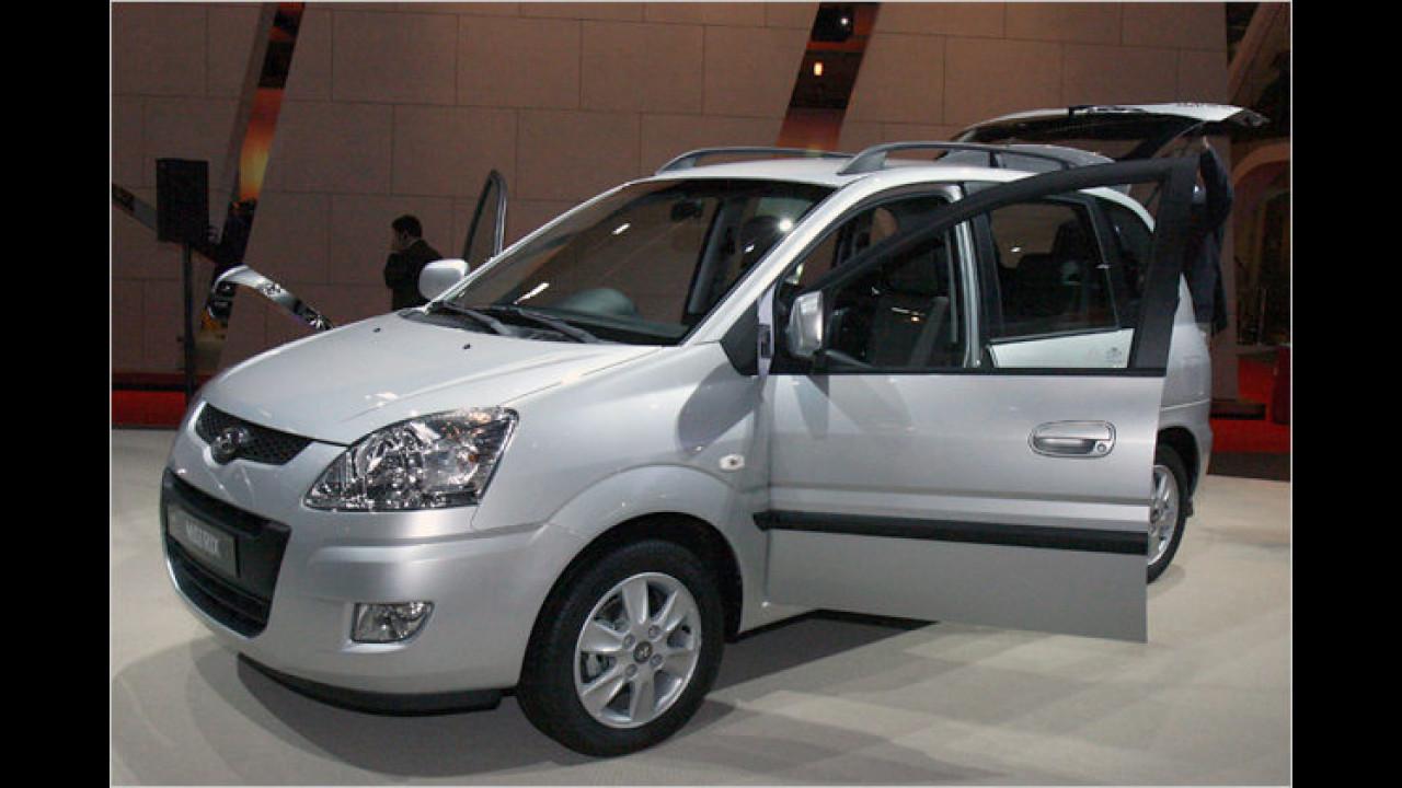 Facelift Hyundai Matrix