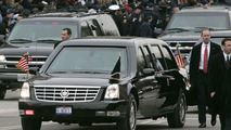 Cadillac DTS Limousine at 2005 inauguration