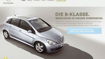 Mercedes-Benz B-Class Online Promo