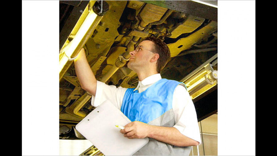 72 Betriebe im großen ADAC-Werkstättentest 2006