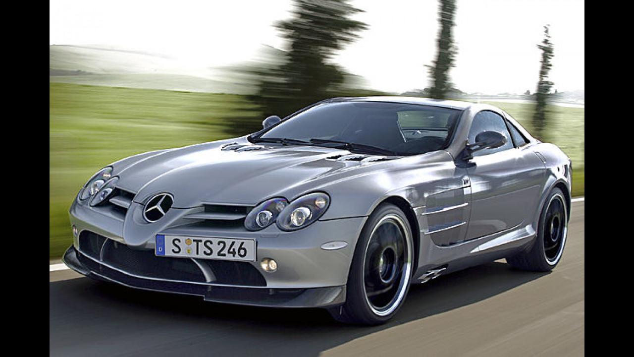 Mercedes SLR 722 Edition: 3,6 sec