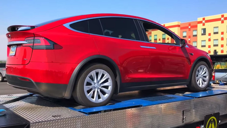 Tesla Model X 90D On Dyno Exceeds HP Specs By 15%