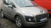 2010 Peugeot 3008 Spy Photo