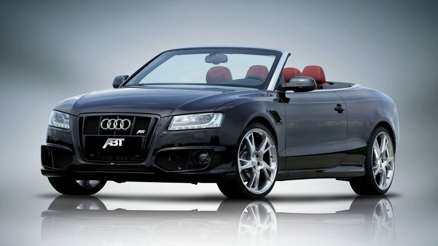 ABT AS5 cabrio based on Audi A5 Cabrio