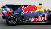 Mark Webber (AUS), Red Bull Racing, RB6 exhaust detail, Turkish Grand Prix, 29.05.2010 Istanbul, Turkey