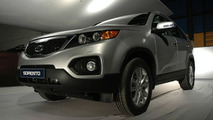2010 Kia Sorento XM Spied During Photo Shoot