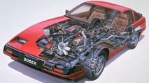 1983 Nissan 300ZX Cutaway