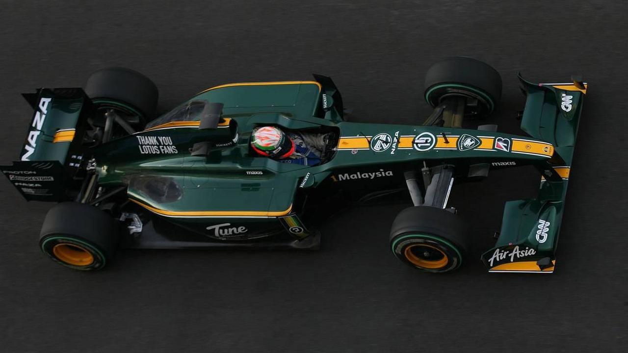 Vladimir Arabadzhiev (BUL), Lotus F1 Team - Formula 1 Testing, 17.11.2010