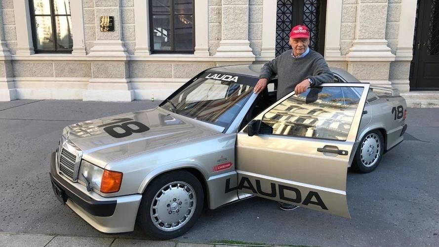 Un Mercedes-Benz 190 E 2.3-16, de Niki Lauda, a la venta