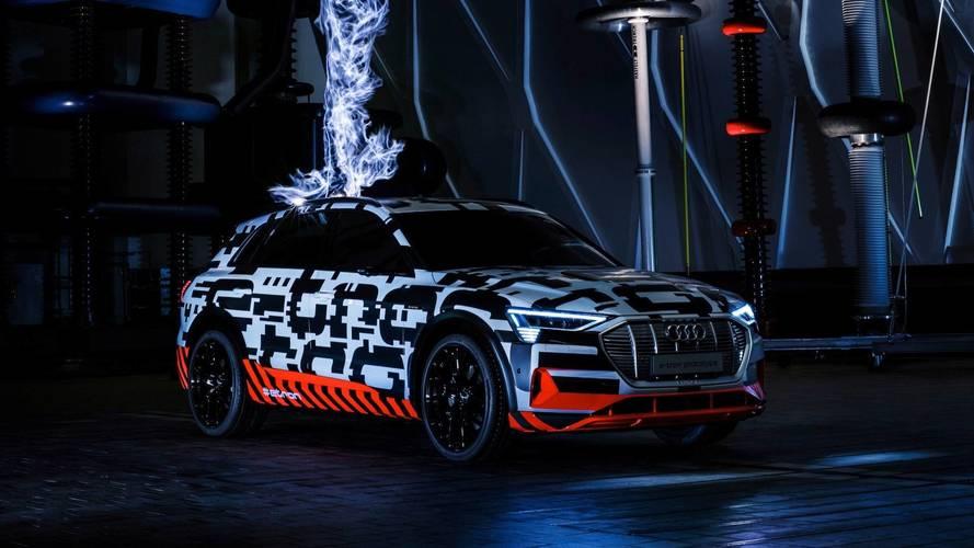 Audi E-Tron Electrified To 248-Mile Range On European Cycle