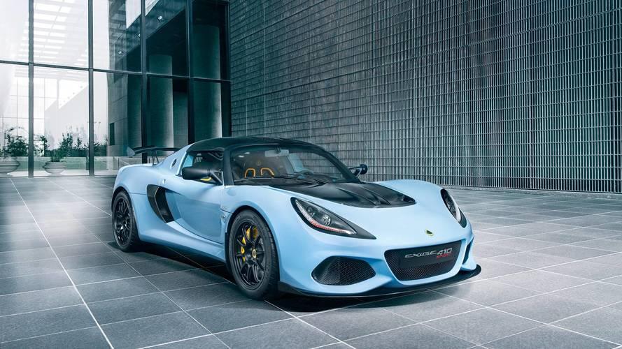 Lotus, Exige Sport 410 modelini tanıttı