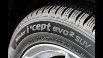 Hankook Winter i'cept evo2 SUV, la prova dei pneumatici invernali