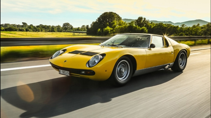 Lamborghini Miura, concluso il Tour si guarda a Goodwood