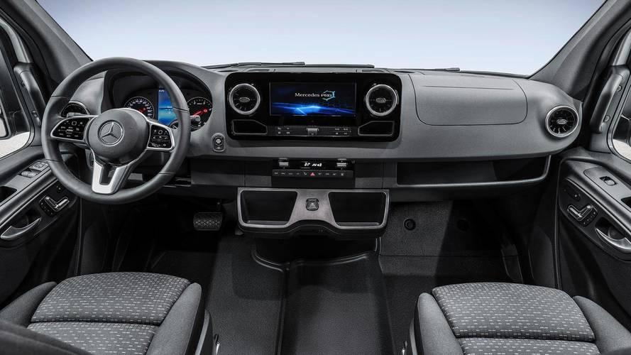 Mercedes Reveals First Look At Next-Gen Sprinter's High-Tech Cabin