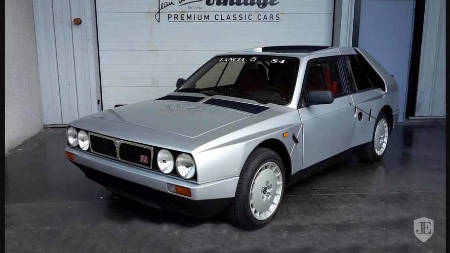 Cette Lancia Delta S4 Stradale est à vendre en France !