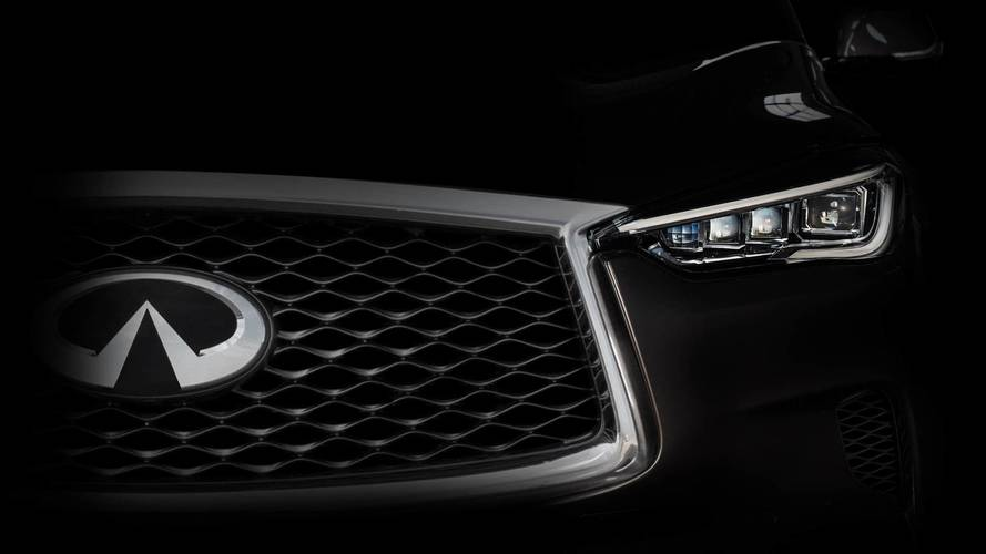 Infiniti teases new car it's going to reveal at LA motor show