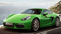 Porsche 718 Cayman S render