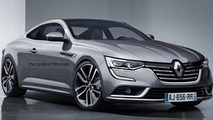 Renault Talisman Coupe render
