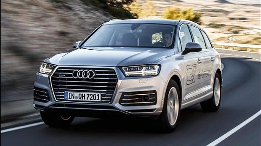 Audi Q7 e-tron 3.0 TDI quattro, nuove frontiere del comfort