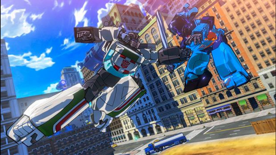 Optimum Prime e Bumblebee sono tornati in Transformers: Devastation