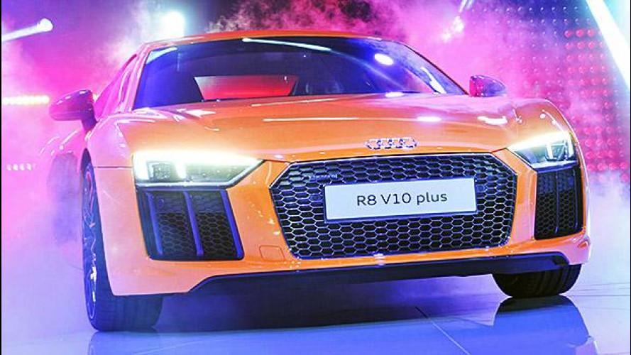 Salone di Ginevra: l'Audi R8 sfoggia i laser italiani