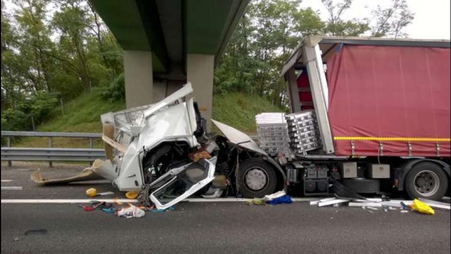 Allarme incidenti Tir in autostrada, le soluzioni Unrae