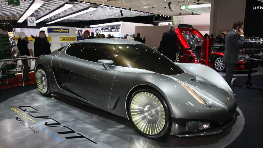 Koenigsegg Quant Concept Revealed - Full Production Planned