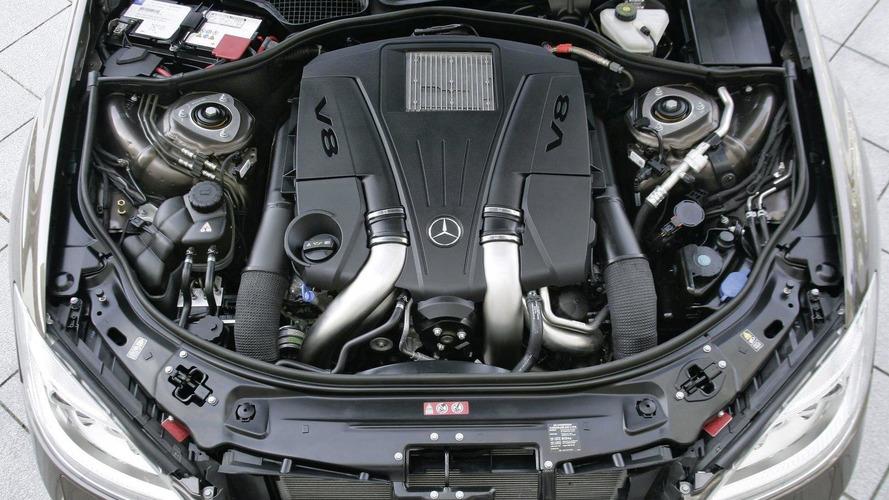 New Mercedes engines: 4.6-liter V8 biturbo and 3.5-liter V6 official details revealed