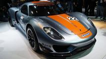 Porsche 918 RSR live in Detroit, 1600, 10.01.2011