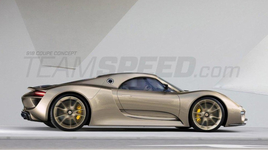Porsche 918 Spyder rendered - model may debut in Detroit