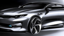 2016 Kia Optima teaser sketch