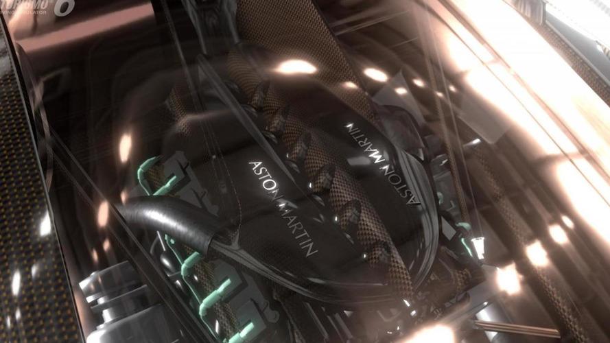 Aston Martin DP-100 Vision Gran Turismo teased