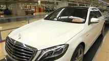 Mercedes-Benz 'accidentally' reveals 2014 S63 AMG ? [video]