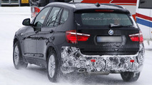 2013 BMW X3 facelift spy photo 25.02.2013 / Automedia