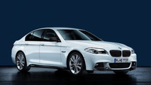 BMW 5 Series with BMW M Performance Parts 17.02.2012