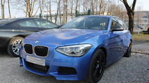 BMW M135i spied production ready