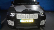 2014 Range Rover Sport spied by a WCF reader